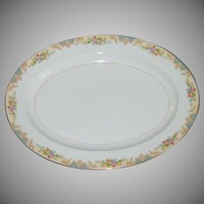 Large Noritake Imperial China Oval Platter
