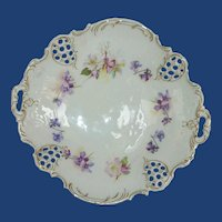 BRC Moliere Germany Hand Painted Porcelain Dish