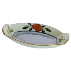 Hand Painted Noritake Salt Dish Japan