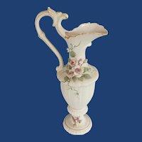 Hand Painted Lefton China Vase Urn