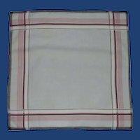 Man's Grey 1980's Handkerchief