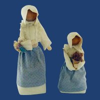 Dolls Amish Mother and Child