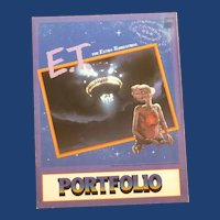1982 Universal Studios School Folder E. T.