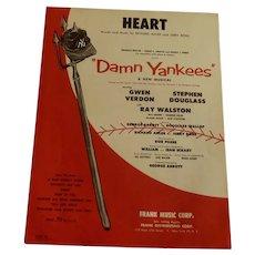 """""""Heart"""" from Damn Yankees Sheet Music"""