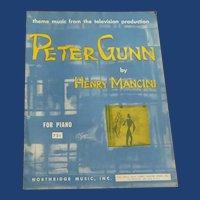 Peter Gunn by Henry Mancini Sheet Music