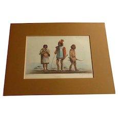 Lithograph Print of Chemehuevis Indians