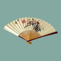 Big Flowers Hand Fan from China