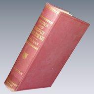 Crown and Bridge Prosthesis Tylman 1940 Book