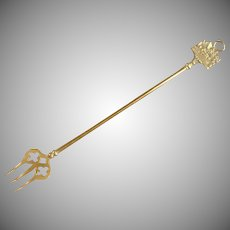 Shakespeare's House Handle Solid Brass Toasting Fork