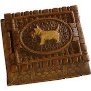 Burwood Syroco Scottie Dog Cigarette Box