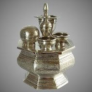 Pooja Puja Indian Celebration Container Set