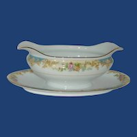 Noritake Imperial Fine China Oblong Gravy Bowl