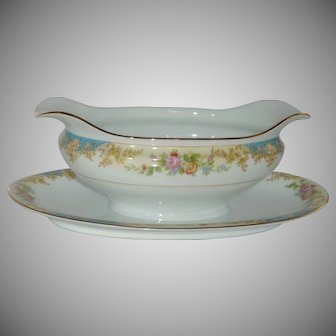 Noritake Imperial Fine China Oblong Gravy Bowl