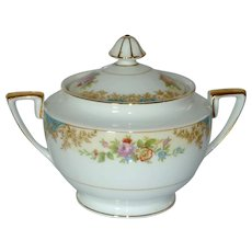 Noritake Imperial Fine China Sugar Bowl