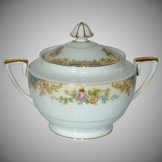 Noritake Imperial Fine China Sugar Bowl