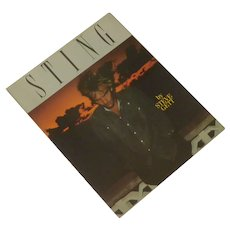 Sting the Singer Biography Book