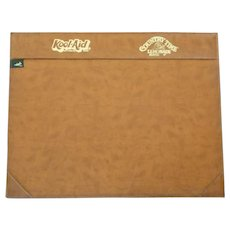 Leather Calendar Holder Desk Pad Promotional Kool-Aid