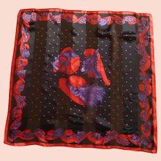 Red Hat Ladies Society Silk Scarf