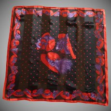 Red Hat Ladies Society Silk Scarf