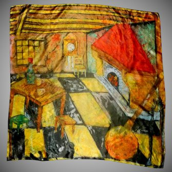Art Picture of Hearth and Den Head Scarf