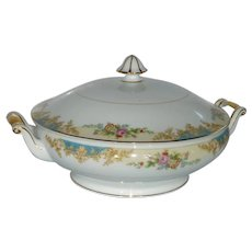 Noritake Imperial Fine China Round Covered Vegetable Bowl