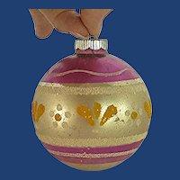 1960s Mercury Glass Christmas Tree Ornament