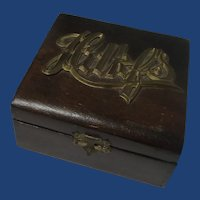 Handkerchief Wood Box 1930's