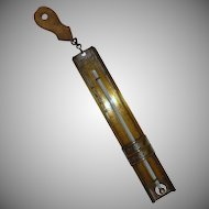 Antique Tin Taylor Home Candy Thermometer