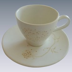 Queen Annes Lace Edwin Knowles Cup and Saucer