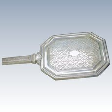 Antique Sterling Silver Tiffany & Co Brush & Mirror dresser Set M mark 2030 0A