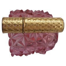 Vintage Revlon Lipstick Case with Rhinestone