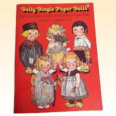 Dolly Dingle's Trip Around The World.. Book Of Paper Dolls..Grace G Drayton..1978 Edition.. New Condition!