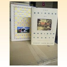 Bridges Of Madison County Novel & Cook Book Set..First Printing..New Condition