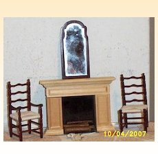 Vintage...1970's..MIB..Williamsburg Electric Flickering Fireplace #2022 By Houseworks.