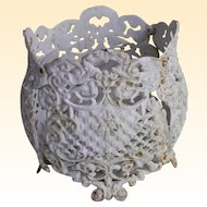 Vintage Garden Decorative Iron Flower Pots / Planter.... 3 Pots Available