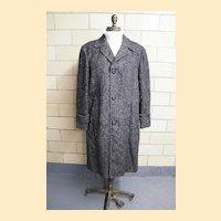 ROBERT HALL Men's Winter Coat..Zip-Out Wool Plaid Lining