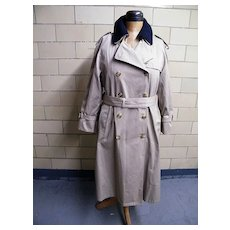 AMERICAN AIRLINES Women's All Weather Trench Coat..Zip-Out Lining..Thinsulate