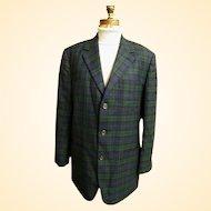 a0920c9a1cb9 Men's Madras Sports Jacket Coat..Rose & Aqua & Yellow Cotton Plaid ...