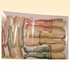 Victorian Paper Bloomer Puppets..Available 2 sets