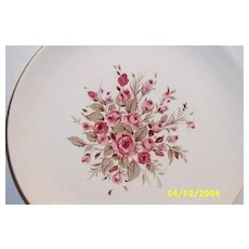 Canonsburg Soup Bowl Pink Rose Cluster [3]