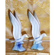 Maine... Seagull Salt And Pepper Shakers...