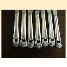 ETERNALLY YOURS..Silver Flatware..Rogers Bros..Service for 8..Plus Sugar & Butter Knife