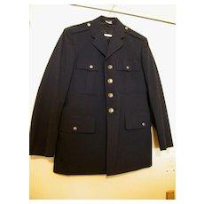 Vintage US AIR FORCE Dress Jacket..Blue  Wool...Size 40R..Excellent Vintage Condition