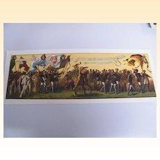 Antique RARE Original Victorian Oktoberfest Banner / Poster...Excellent Condition