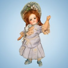 Stunning Rare Ernst Grossman 10 1/2 inch Sonneberg Bisque Doll