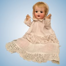 Tiny 8 Inch Character Baby Model 300 by Heubach Koppelsdorf