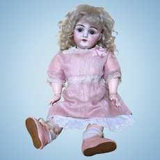 "Charming 14"" Kestner Early Style 143 German Bisque Child Doll"