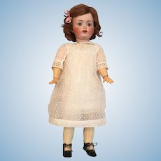 "Lovable 19"" Kestner 260 German Bisque Character Child w/ Original Wig & Pate"