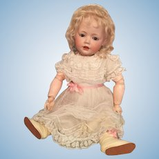 "Endearing 19"" Kestner Hilda German Bisque Toddler"