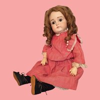 Wistful 19 Inch Early Closed Mouth Kestner German Bisque Child